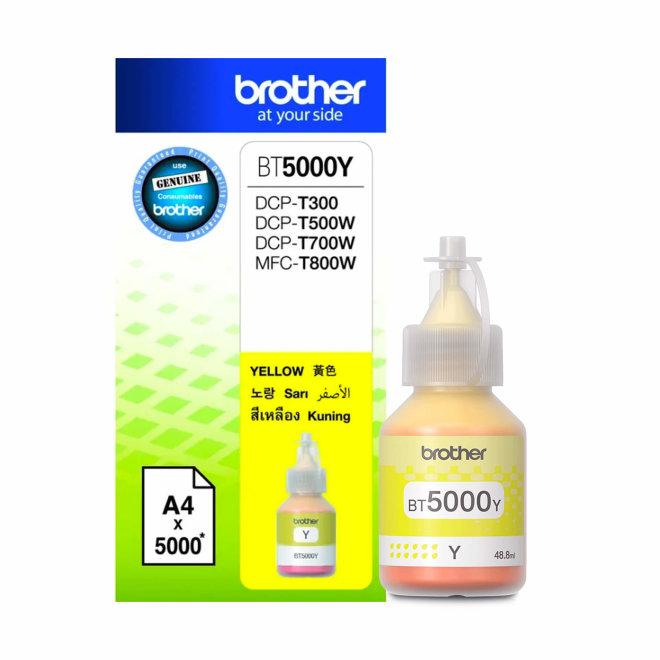 Brother BT-5000Y, Yellow, tinta, cca 5.000 ispisa, Original [BT5000Y]