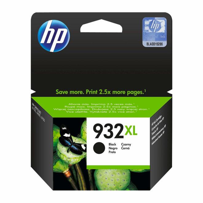 HP 932XL High Yield Black Original Ink Cartridge, tinta, cca 1.000 ispisa, Original [CN053AE#BGX]