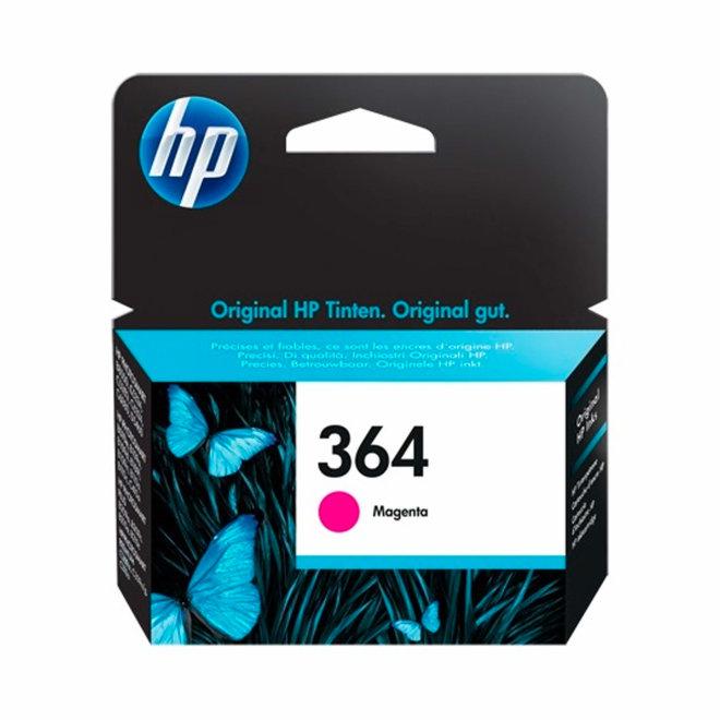 HP 364 Magenta Original Ink Cartridge, tinta, cca 300 ispisa, Original [CB319EE#BA3]