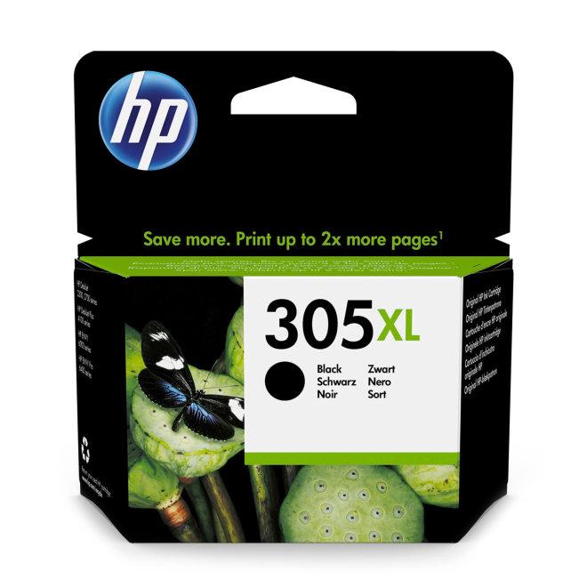 HP 305XL High Yield Black Original Ink Cartridge, tinta, cca 240 ispisa, Original [3YM62AE#UUS]