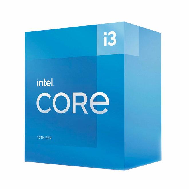 Intel Core i3 10105F, 3.7 GHz, 4 cores, 8 threads, 6 MB cache, LGA1200 Socket, Box [BX8070110105F]