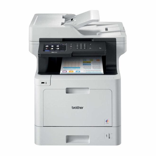 Brother MFC-L8900CDW, višefunkcijski pisač, laserski ispis u boji, A4, WiFi, Ethernet, USB, NFC, ADF, Duplex, Touchscreen, 60 – 163 g/m² [MFCL8900CDWRE1]