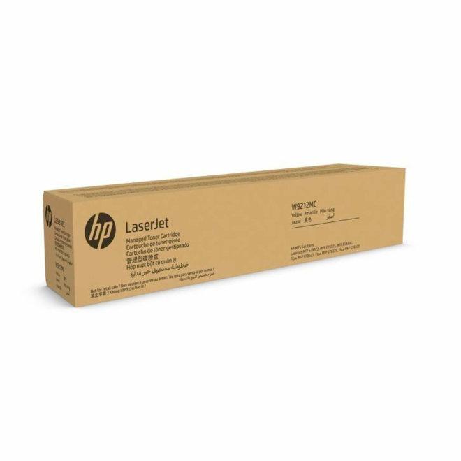 HP W9212MC Yellow Managed Original LaserJet Toner Cartridge, kazeta, Original [W9212MC]