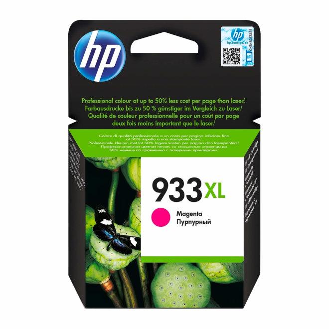 HP 933XL High Yield Magenta Original Ink Cartridge, tinta, cca 825 ispisa, Original [CN055AE#BGX]
