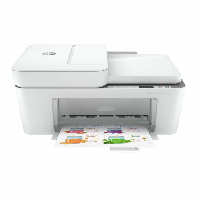 HP DeskJet 4120e All-in-One Printer, višefunkcijski pisač, tintni ispis u boji, A4, WiFi, USB, ADF, 60 – 300 g/m² [26Q90B#686]