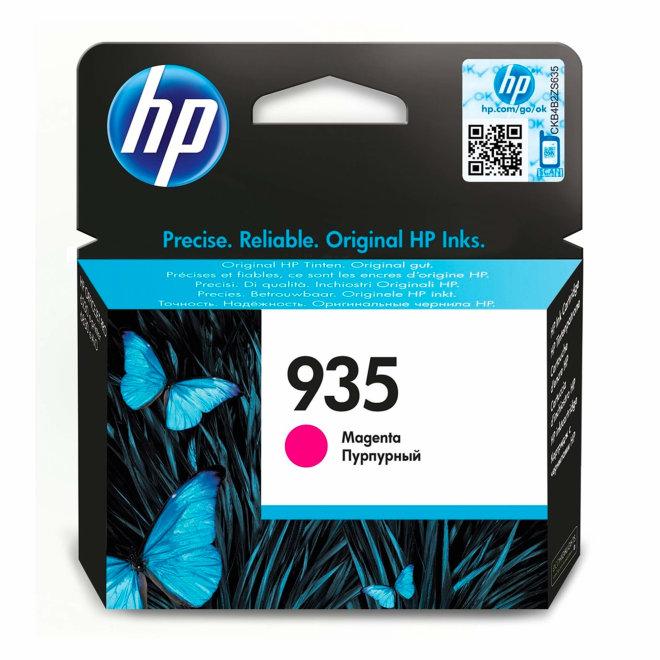 HP 935 Magenta Original Ink Cartridge, tinta, cca 400 ispisa, Original [C2P21AE#BGX]