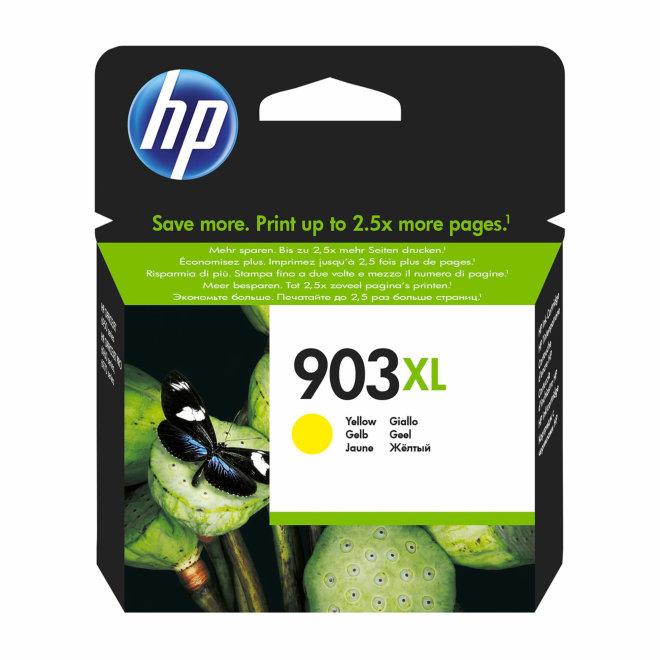 HP 903XL High Yield Yellow Original Ink Cartridge, tinta, cca 825 ispisa, Original [T6M11AE#BGX]