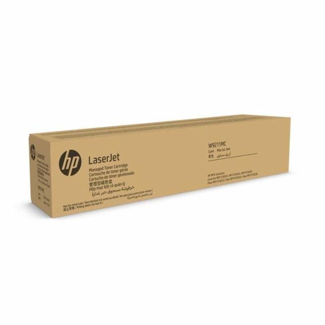 HP W9211MC Cyan Managed Original LaserJet Toner Cartridge, kazeta, Original [W9211MC]