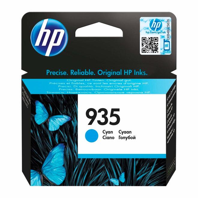 HP 935 Cyan Original Ink Cartridge, tinta, cca 400 ispisa, Original [C2P20AE#BGX]
