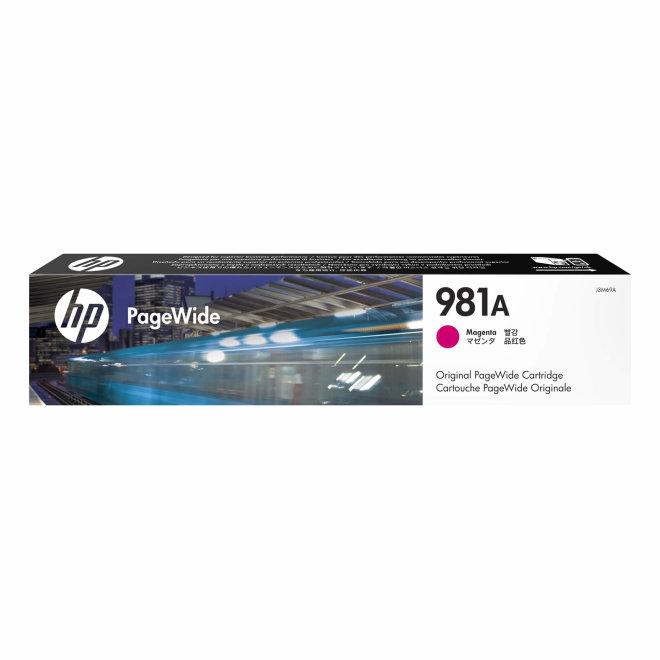 HP 981A Magenta Original PageWide Cartridge [J3M69A]