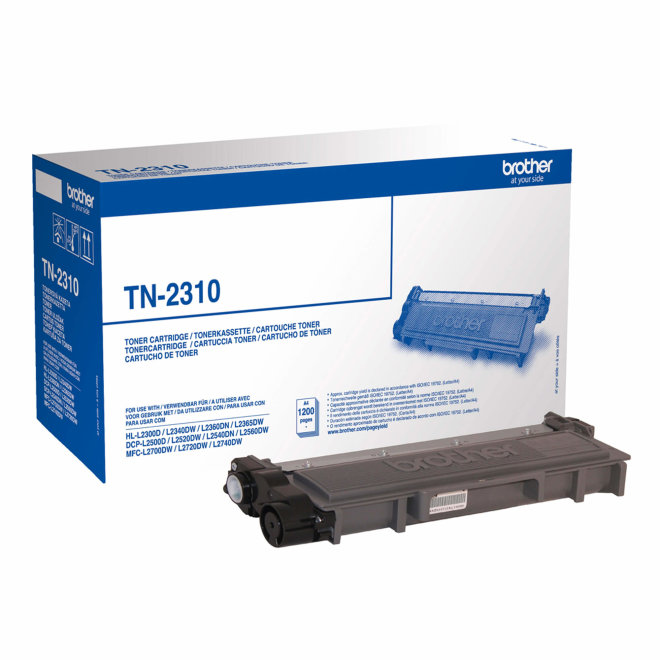 Brother toner TN-2310, Black, cca 1.200 stranica, Original [TN2310]