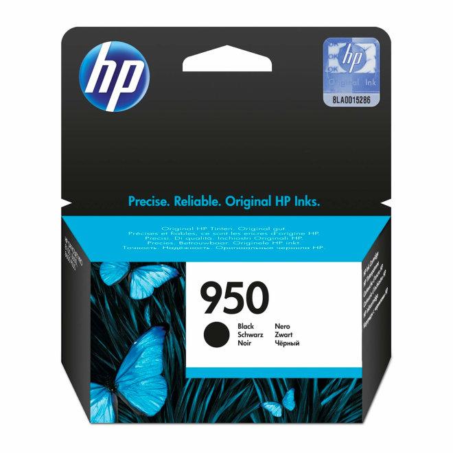 HP 950 Black Original Ink Cartridge, tinta, cca 1.000 ispisa, Original [CN049AE#BGX]