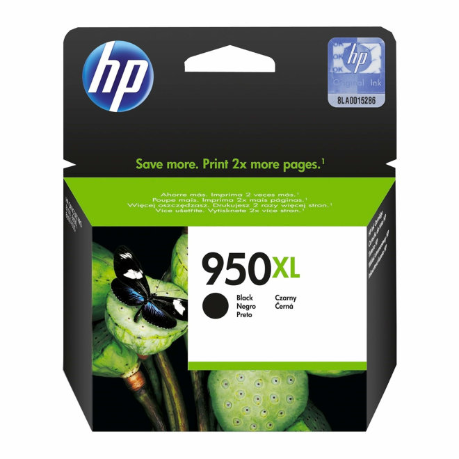 HP 950XL High Yield Black Original Ink Cartridge [CN045AE#BGY]