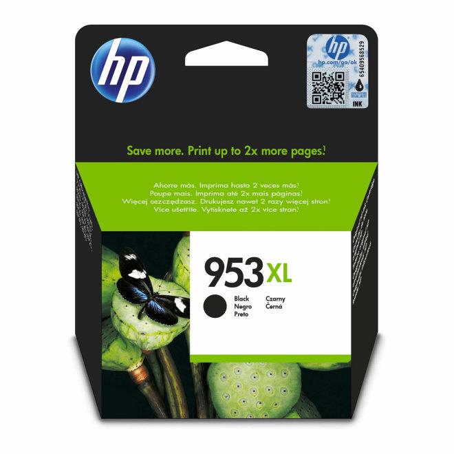HP 953XL High Yield Black Original Ink Cartridge, tinta, cca 2.000 ispisa, Original [L0S70AE#BGX]