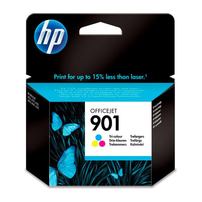 HP 901 Tri-colour Officejet Ink Cartridge, tinta, cca 360 ispisa, Original [CC656AE#UUQ]