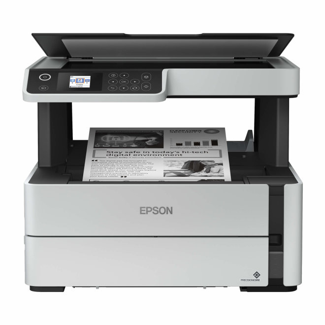 Epson EcoTank M2140, višefunkcijski pisač, tintni c/b ispis, A4, USB, dupleks, LCD zaslon [C11CG27403]