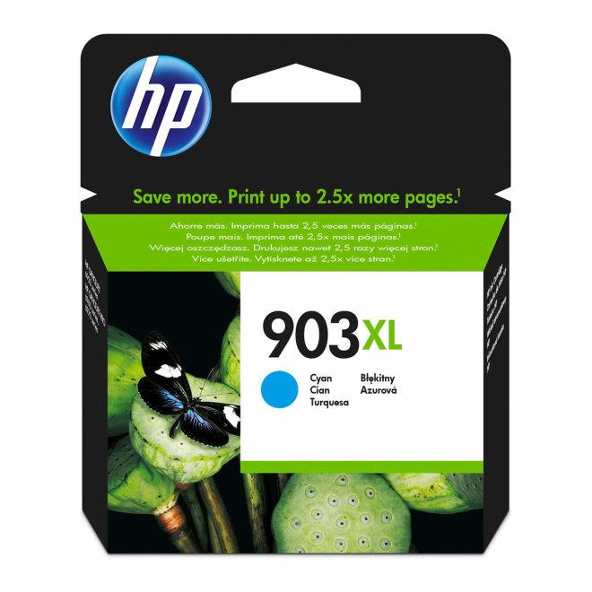 HP 903XL High Yield Cyan Original Ink Cartridge [T6M03AE]