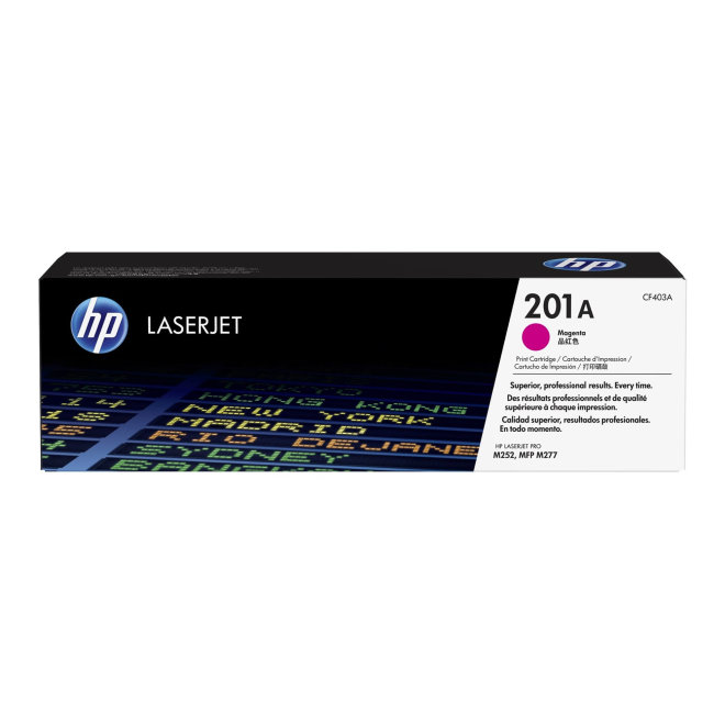 HP 201A Magenta LaserJet Toner Cartridge, cca 1.330 ispisa, Original [CF403A]