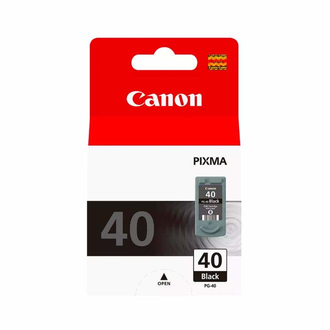 Canon PG-40BK Black Ink Cartridge, tinta, cca 420 ispisa, Original [0615B001]