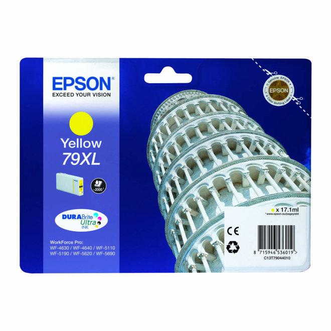 Epson Singlepack Yellow 79XL DURABrite Ultra Ink, tinta, cca 2.000 ispisa, Original [C13T79044010]