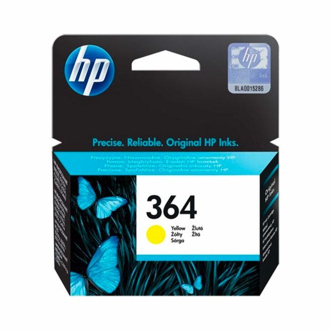 HP 364 Yellow Original Ink Cartridge, tinta, cca 300 ispisa, Original [CB320EE#BA3]