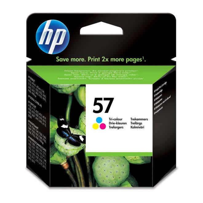HP 57 Tri-color Original Ink Cartridge [C6657AE]