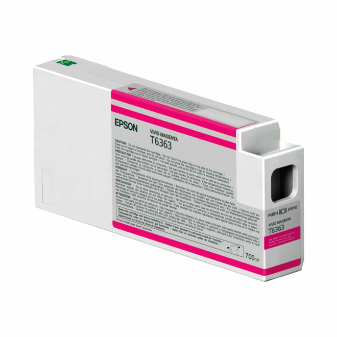 Epson tinta Vivid Magenta T636300, UltraChrome HDR, 700 ml, Original [C13T636300]