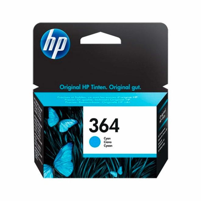 HP 364 Cyan Original Ink Cartridge, tinta, cca 300 ispisa, Original [CB318EE#BA3]