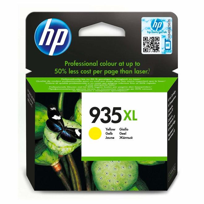 HP 935XL High Yield Yellow Original Ink Cartridge, tinta, cca 825 ispisa, Original [C2P26AE#BGX]