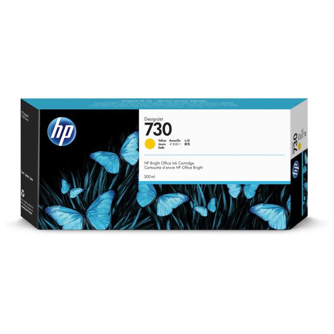 HP 730 300-ml Matte Black DesignJet Ink Cartridge, tinta, Original [P2V71A]