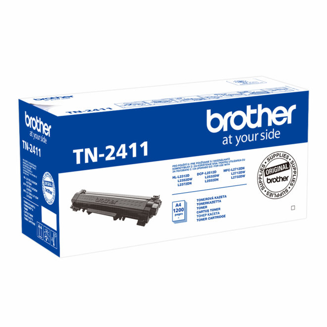 Brother toner TN-2411, Black, cca 1.200 stranica, Original [TN2411]