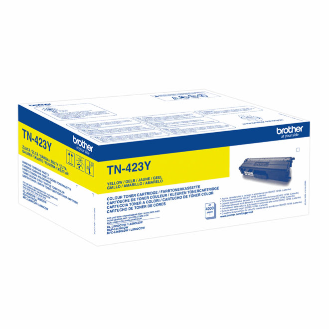 Brother toner TN-423Y, Yellow, cca 4.000 stranica, Original [TN423Y]