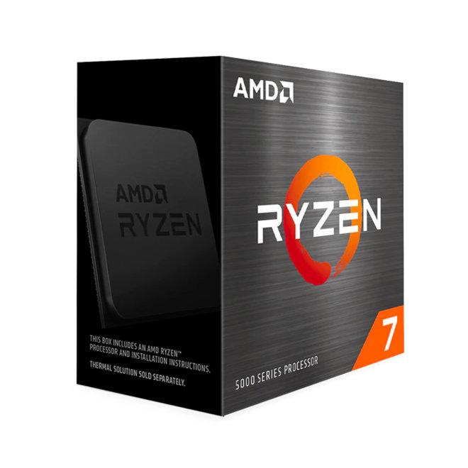 AMD Ryzen 7 5800X, 3.8 GHz, 8-core, 16 threads, 32 MB cache, Socket AM4, PIB/WOF, Box [100-100000063WOF]
