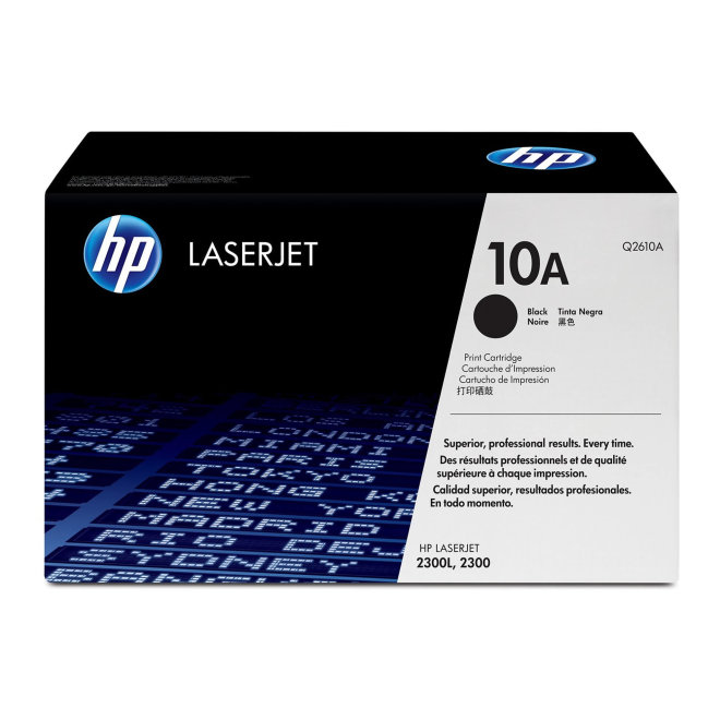 HP 10A Black Original LaserJet Toner Cartridge [Q2610A]