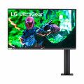 "LG UltraGear 27GN880-B, LED monitor, 27"", 2560 x 1440 QHD @ 144 Hz, Nano IPS, 350 cd/m², 1000:1, HDR10, 1 ms, 2 x HDMI, DisplayPort, Matte Black, Glossy Metallic Red Accents [27GN880-B]"