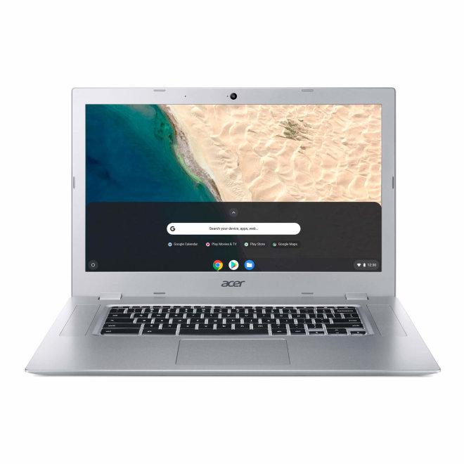 "Acer Chromebook 315 CB315-3H, Pentium Silver N5030 / 1.1 GHz Chrome OS, 8 GB RAM, 128 GB eMMC, 15.6"" TN 1920 x 1080 (Full HD), UHD Graphics 605, Wi-Fi 5, Bluetooth, Pure Silver [NX.HKBEX.00A]"