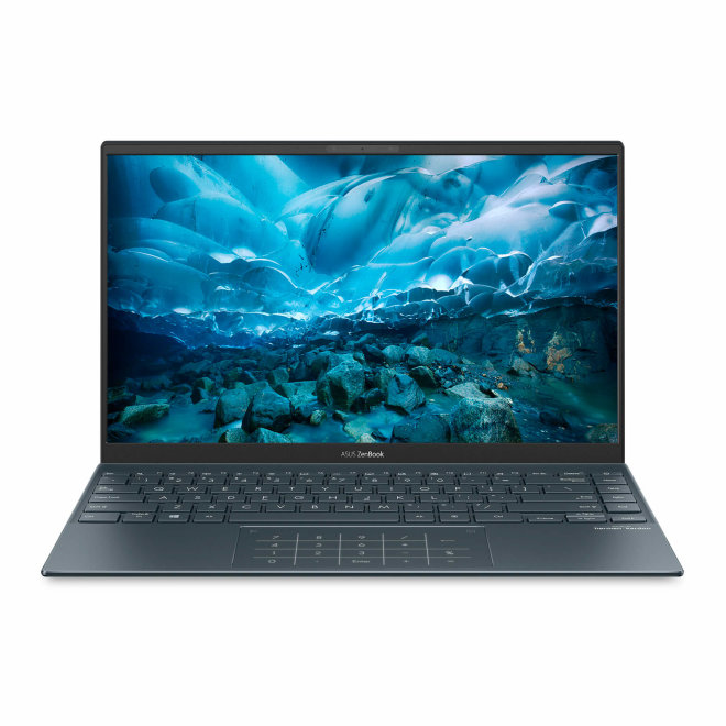 "Asus ZenBook 14 UX425EA-WB713R, Core i7 1165G7 @ 2.8 GHz, Win 10 Pro, 16 GB RAM, 512 GB SSD NVMe, 14"" 1920 x 1080 FHD, Iris Xe Graphics, Bluetooth, Wi-Fi 6, Pine Grey, 0,93 kg [90NB0SM1-M09680]"
