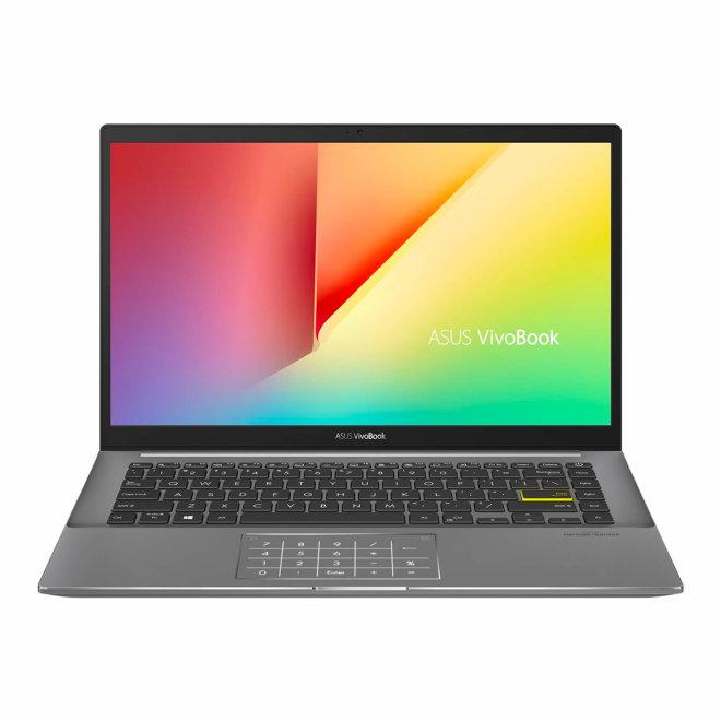 "Asus VivoBook S14 S433EA-WB517T, Core i5 1135G7 @ 2.4 GHz, Win10 Home, 8 GB RAM, 512 GB SSD NVMe, 14"" FHD, Iris Xe Graphics, BT, Wi-Fi 6, Light Grey [90NB0RL4-M10850]"