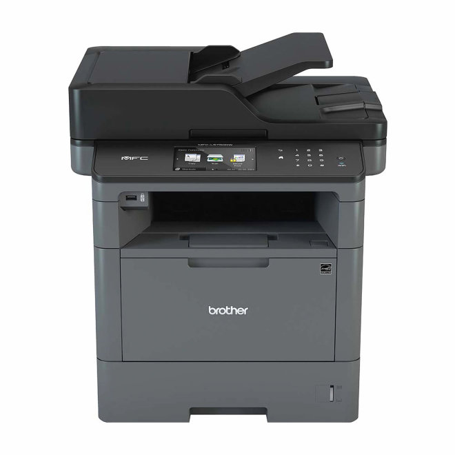 Brother MFC-L5750DW, višefunkcijski pisač, crno-bijeli laserski ispis, A4 format, WiFi, USB, Ethernet, Dupleks, ADF, Touchscreen [MFCL5750DWYJ1]