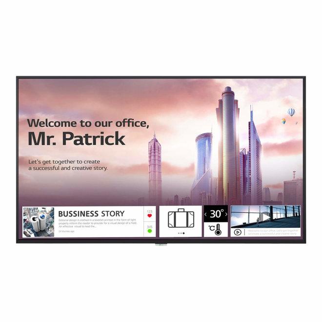 "LG 49UH5F-H, 49"" Diagonal Class UH5F-H Series LED-backlit LCD display, Digital signage, 4K UHD (2160p) 3840 x 2160, webOS, Black [49UH5F-H]"