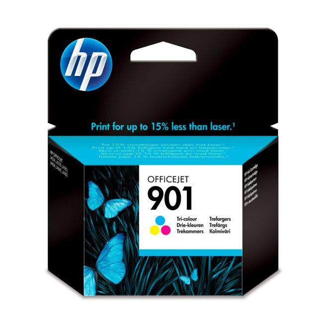 HP 901 Tri-color Original Ink Cartridge, tinta, cca 360 ispisa, Original [CC656AE#ABE]