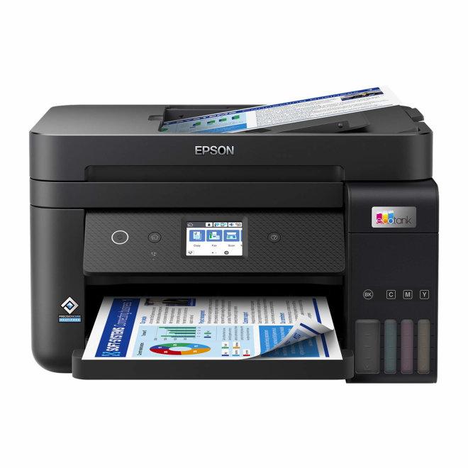 Epson L6290, Višefunkcijski pisač, Kolor, Ink-jet, Refillable, A4, do 15.5 str/min, 250 listova, USB, LAN, Wi-Fi, Touchscreen, 64 – 300 g/m² [C11CJ60404]