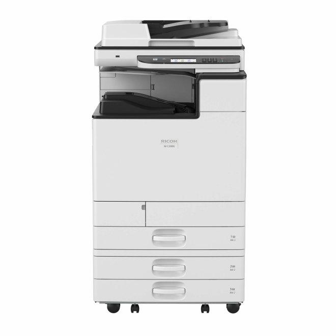 Nashuatec M C2000, Višefunkcijski pisač, Laserski ispis, Kolor, A3, Gig LAN, USB, Touchscreen, ADF, Duplex, 52 – 300 g/m² [418968]