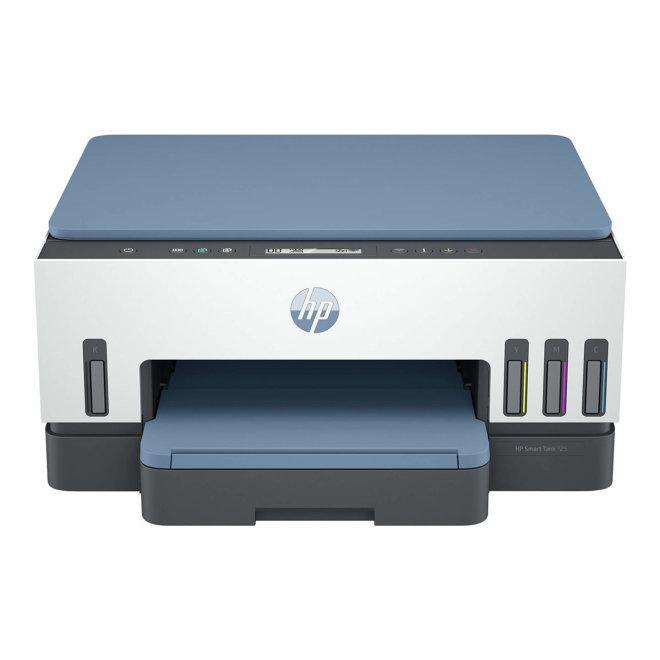 HP Smart Tank 725 All-in-One, Višefunkcijski printer, Kolor, Ink-jet, Refillable, A4, 15 spm, 250 listova, USB 2.0, Wi-Fi(ac), Bluetooth, 60 – 160 g/m² [28B51A#670]