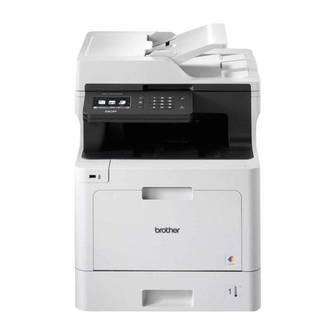 Brother DCP-L8410CDW, višefunkcijski pisač, laserski ispis u boji, A4, WiFi, Ethernet, USB, ADF, Duplex, Touchscreen, 60 – 163 g/m² [DCPL8410CDWYJ1]