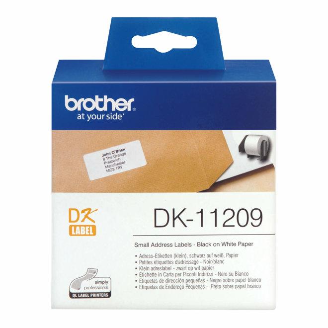 Brother naljepnice DK-11209, rola za označavanje, Original [DK11209]