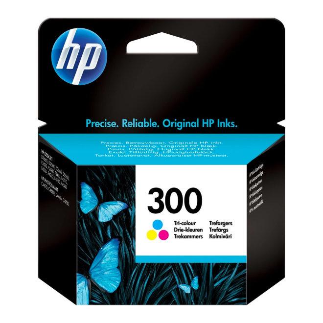 HP 300 Tri-color Original Ink Cartridge [CC643EE#UUS]