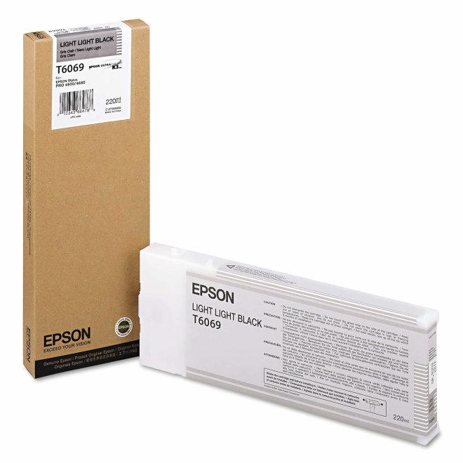 Epson tinta Singlepack Light Light Black T606900, 220 ml, Original [C13T606900]