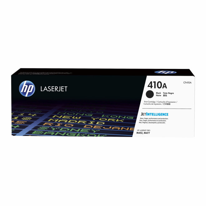 HP 410A Black LaserJet Toner Cartridge/Kazeta, cca 2.300 ispisa, Original [CF410A]