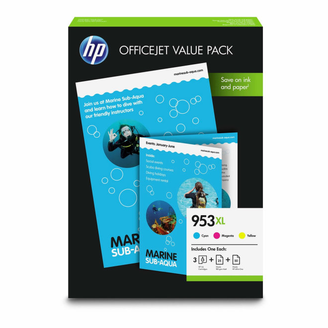 HP 953XL Office Value Pack [1CC21AE]
